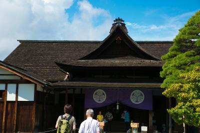 江戸時代の姿がそのまま残る「高山陣屋」を見学