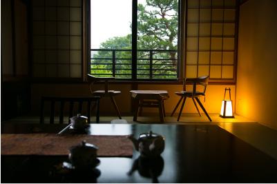 夕食の時間まで、和室のお部屋でのんびりと過ごす