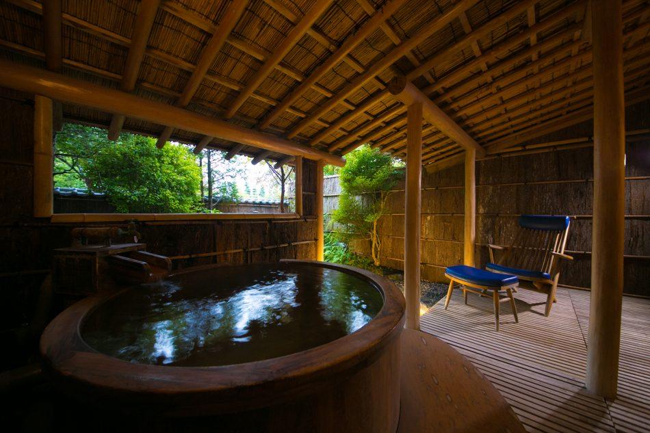 庭付露天風呂付き客室ツイン
