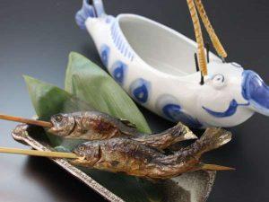 岩魚の骨酒(2合)