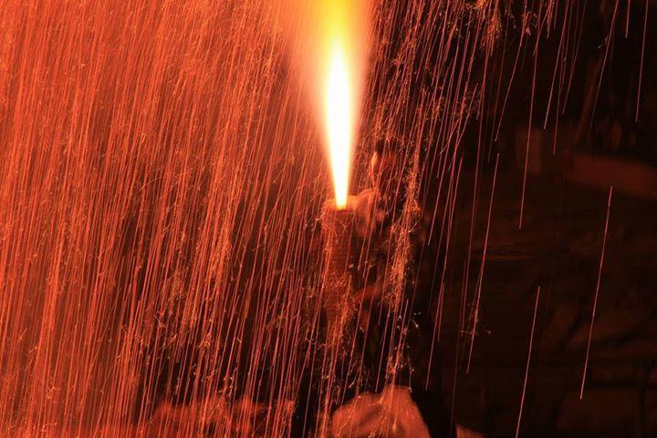 高山の市制80周年を記念した、第33回飛騨高山手筒花火が昨晩、盛大に催されました。