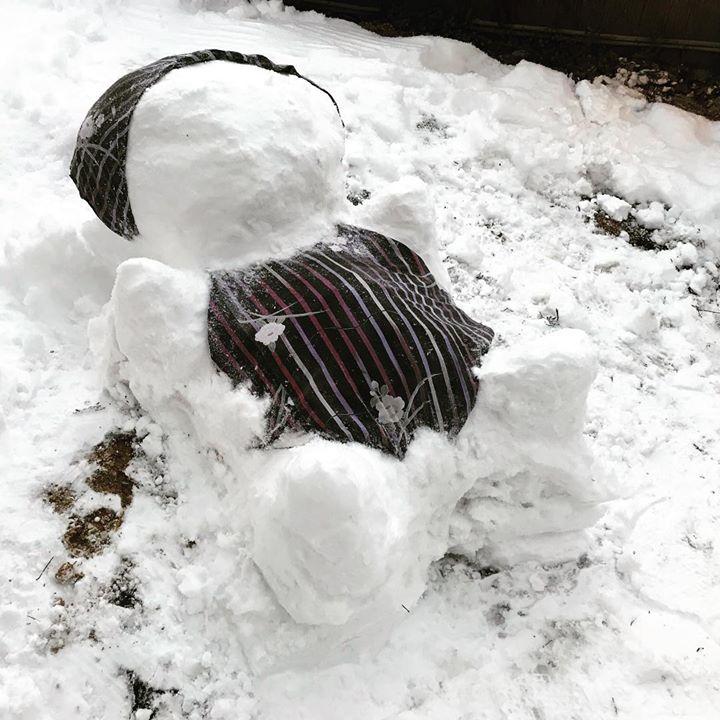 フロント力作「SNOWさるぼぼ」です。
